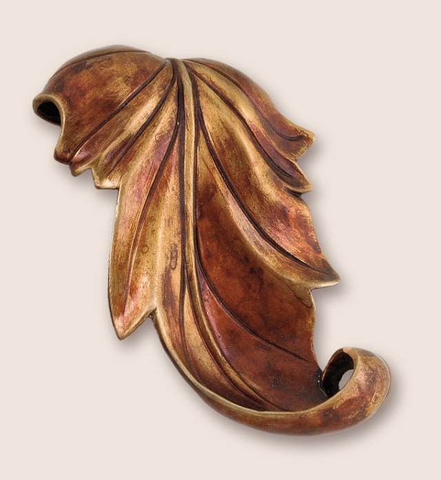 sycamore leaf pull available at Martin Pierce Hardware