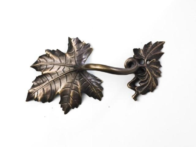 cabinet pull from our Vine collection in bronze finish Martin Pierce Hardware