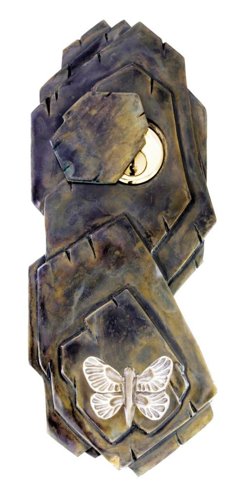 martin pierce butterfly key plate mechanism