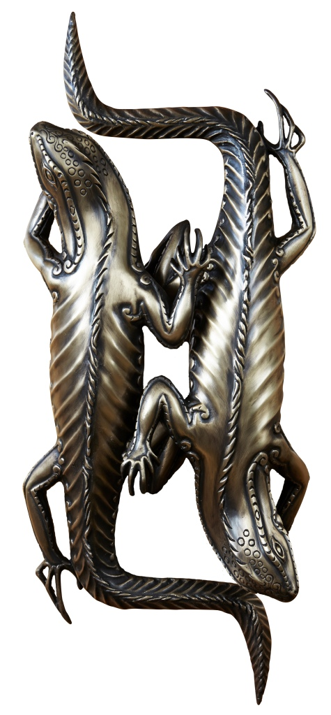 Iguana door pull by Martin Pierce Hardware