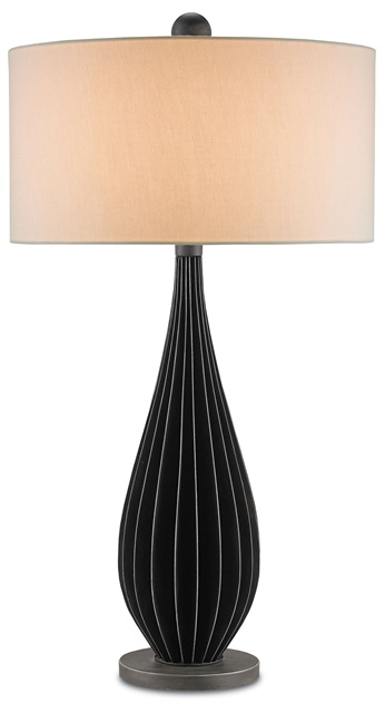 Exton lamp from Currey & Co.