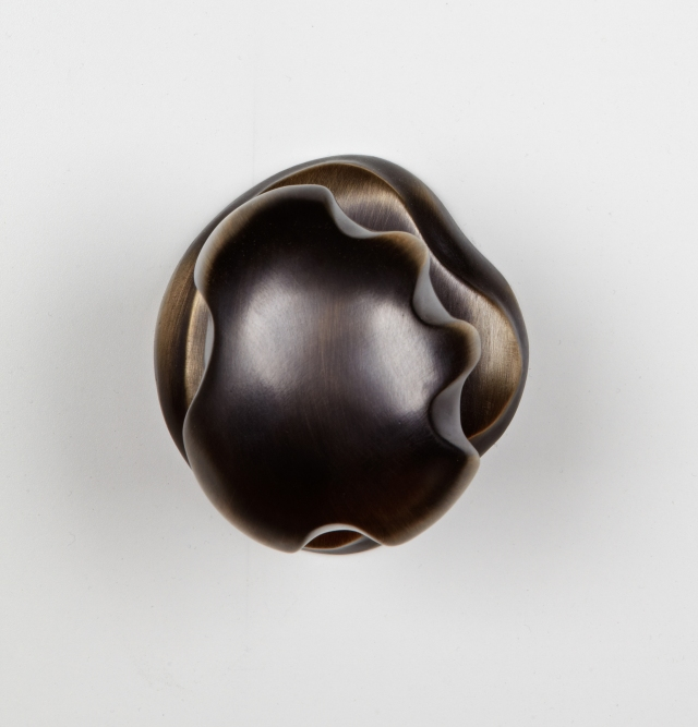 Door knob from the Ergo Collection of custom hardware from Martin Pierce Custom Hardware