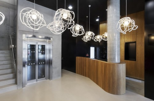 design fabrika hotel czech republic designed by ok plan architects via chic tip of the day blog