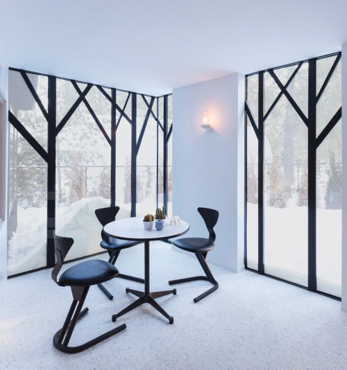 design modern mirrored cottage in ontario canada designed by uufie in toronto via chic tip of the day