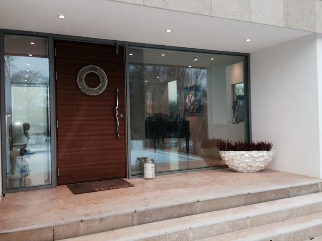 Epic door handle at home in Norway