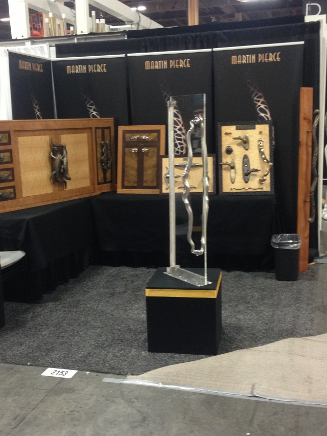 Martin Pierce Custom Hardware booth at HD Expo Las Vegas