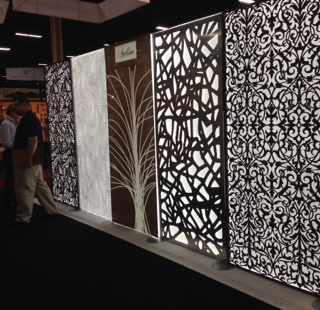 Room divider from artline.com at the 2015 HD Expo Martin Pierce Hardware Los Angeles, Ca  90016