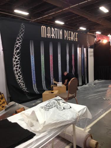 Martin Pierce booth #2277 at 2015 HD Expo Mandalay Bay Las Vegas Nevada